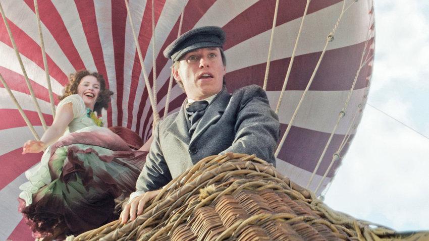 "ON AN ADVENTURE — Felicity Jones and Eddie Redmayne star in ""The Aeronauts."""
