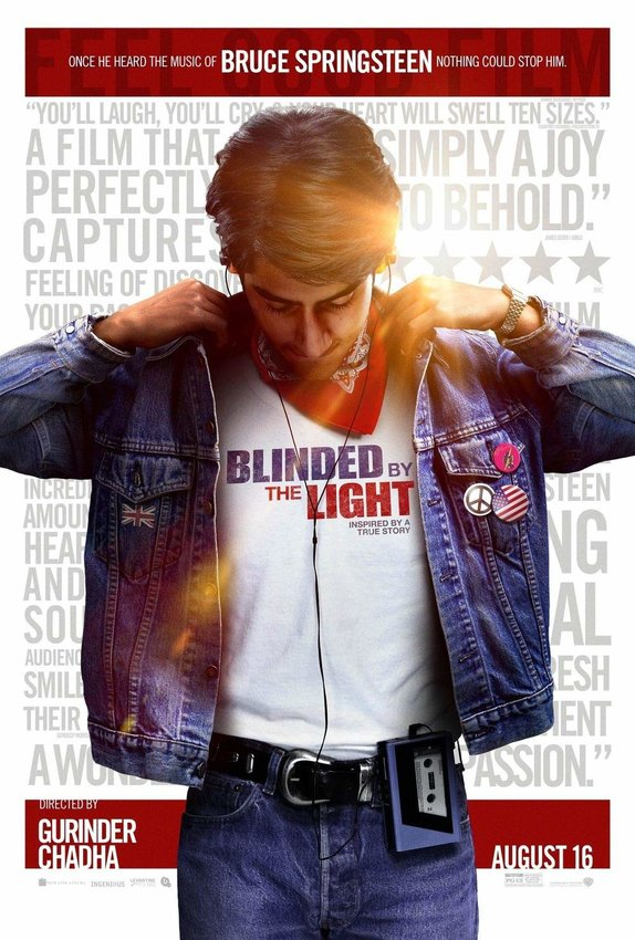 """Monday Movie — """"Blinded By The Light,"""" Jan. 6 at 2 p.m."""