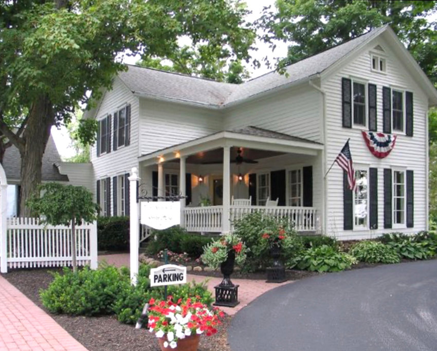 ARBOR INN —This 1850s country farm house, sitting on five acres of lush green countryside sits directly behind Hamilton College at 3919 Griffin Road, and is known to be perfect for parents or guests of students of Hamilton College or residents of Clinton and the Town of Kirkland.