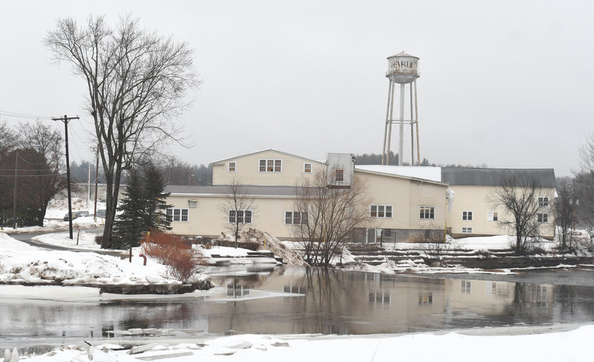 INTELLECTUAL PROPERTY — The shuttered Harden Furniture company plant complex in McConnellsville is shown in this file photo. The company's former CEO Greg Harden is still trying to reacquire Harden's brand-name assets,however this has been held up by litigation involving Big Shoulders Capital of Illinois.