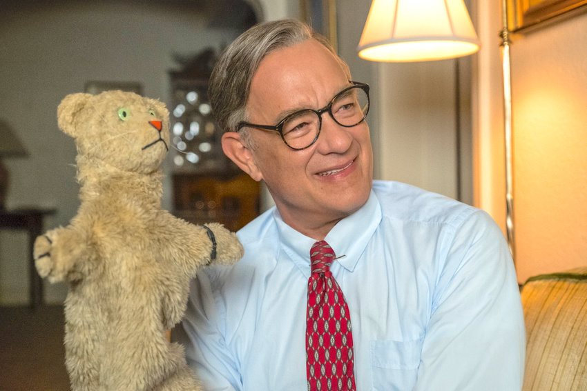 "AWARD NOMINATION — Tom Hanks as Mister Rogers in a scene from ""A Beautiful Day In the Neighborhood."" On Jan. 13 Hanks was nominated for an Oscar for best supporting actor for his role in the film."