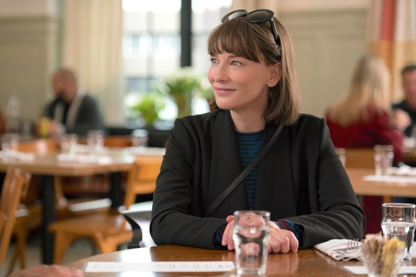 "ON SCREEN — Cate Blanchett as Bernadette Fox in Richard Linklater's ""Where'd You Go, Bernadette."""