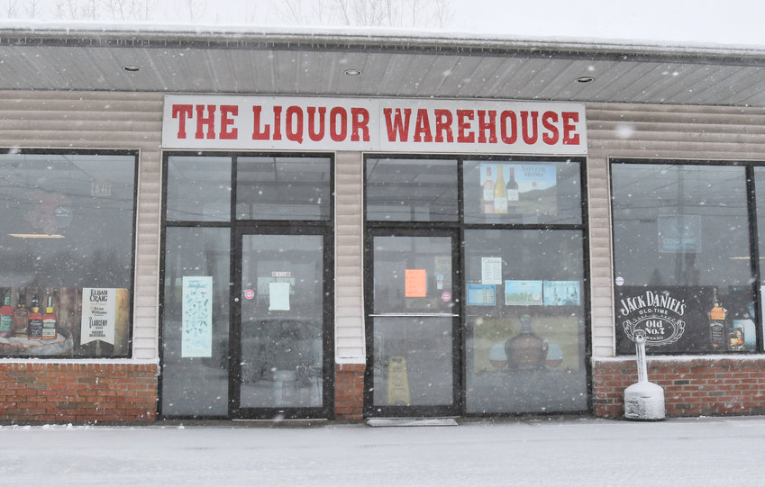 Exterior of The Liquor Warehouse on Erie Blvd Thursday afternoon.