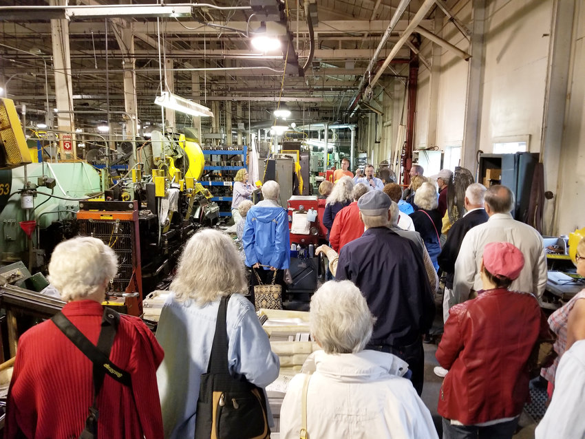 ONEIDA LIMITED — Local residents are invited to a tour with the Oneida Community Mansion House of Oneida Limited's former factory, now the home of Sherrill Manufacturing and Liberty Tabletop.