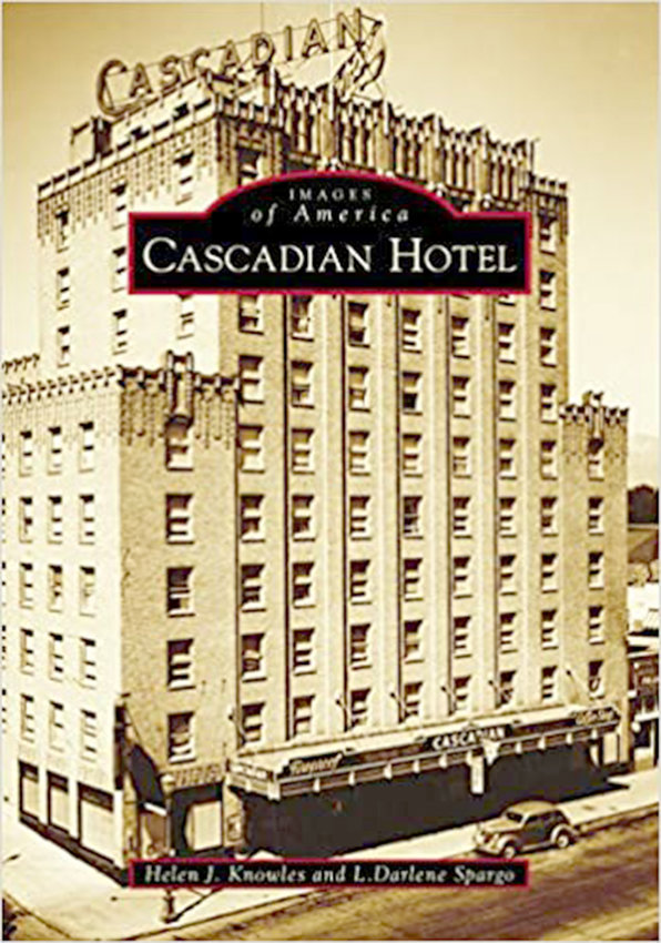 "PIECE OF HISTORY — Dr. Helen J. Knowles, of Clinton, will release this local Washington State history book, ""Images of America: Cascadian Hotel,"" based on research she conducted for another publication she is working on.  She is a political science professor at SUNY Oswego."