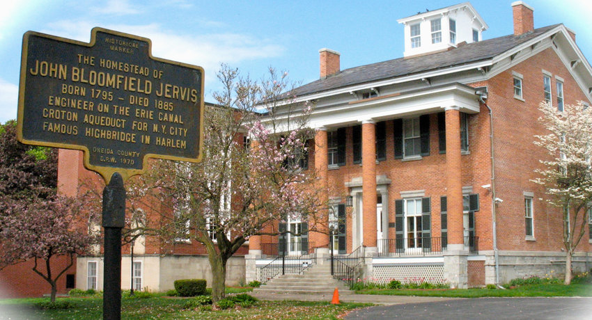 CHECK IT OUT — Jervis Public Library, 613 N. Washington St., will celebrate its 125th anniversary with a series of virtual events next week.
