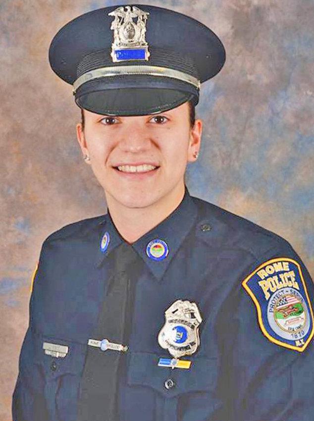 Rome Police Patrolman Jenna Kiskiel