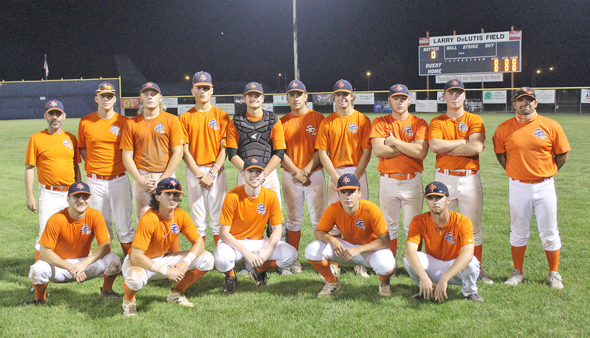 BEST IN THE LEAGUE —The Rome Mohawk Valley Summer Baseball League team went 11-1 this year to earn the best record in the league. Back row from left: head coach Ryan Hickey, Marco Macri, Kyle Williamson, Jack Lawless, Ethan Brown, Damon Campanaro, Riley Brawdy, Adam Williamson, Nate Sharron, coach John Brawdy. Front row from left: Cole Donnelly, Logan DeLutis, Kyle Clark, Evan DeLutis, Preston Mecca.