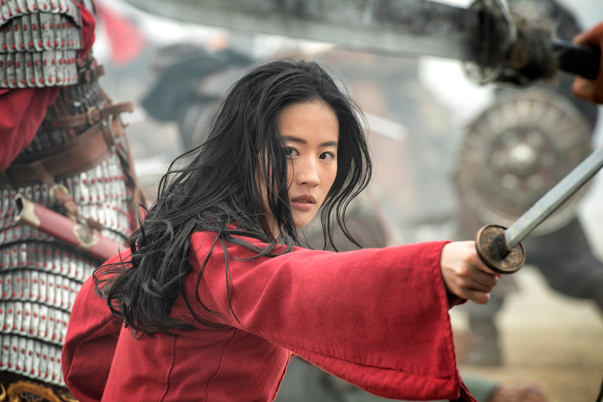 """DISNEY+ EXCLUSIVE — Yifei Liu in the title role of """"Mulan."""" Streaming """"Mulan"""" costs $30, and is available only to Disney+ subscribers."""