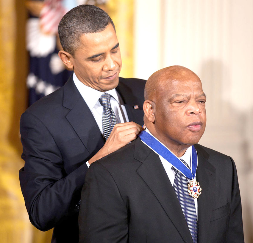 """""""John Lewis: Good Trouble"""" — Civil Rights icon John Lewis received the Presidential Medal of Freedom in 2011. Lewis spent decades working for civil rights, including leading the first of three marches from Selma to Montgomery, Alabama in 1965."""