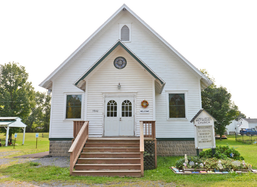 CELEBRATING 200 YEARS — Lowell Untied Methodist Church will hold a day of bicentennial celebrations on Sunday, Sept. 20, beginning with a historically accurate service at 9:30 a.m. and continuing with an afternoon of events beginning at 1 p.m.