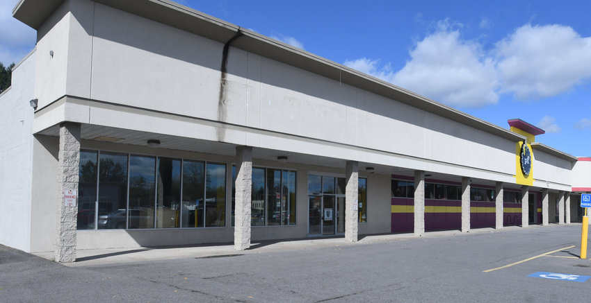 COMING SOON — Rent-A-Center will be relocating from its decades old store in the Mohawk Acres Shopping Center across Black River Boulevard to the former Pet Depot site in The Plaza at Black River, shown above. The move is expected to be complete by March 2021.