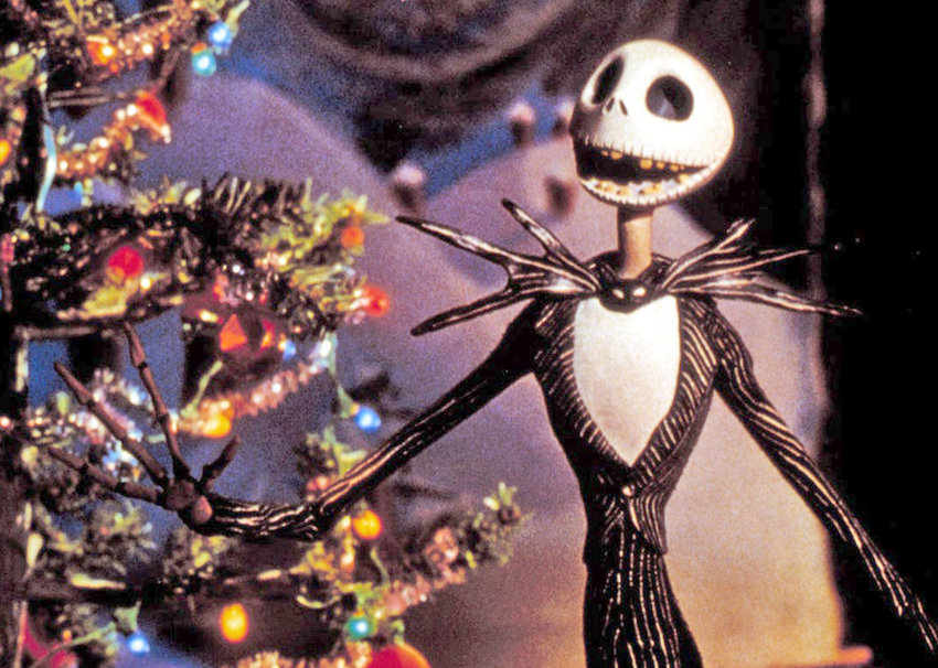 """HOLIDAY FAVORITE — The character Jack Skellington in """"The Nightmare Before Christmas."""" Chris Sarandon provided the speaking voice for Jack, while composer Danny Elfman provided Jack's singing voice."""