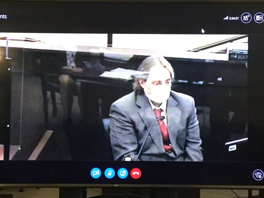 D'AVOLIO ON THE STAND — Accused killer Jason P. D'Avolio took the stand in his own defense this morning. D'Avolio told the jury that he found his wife's body after she took her own life.