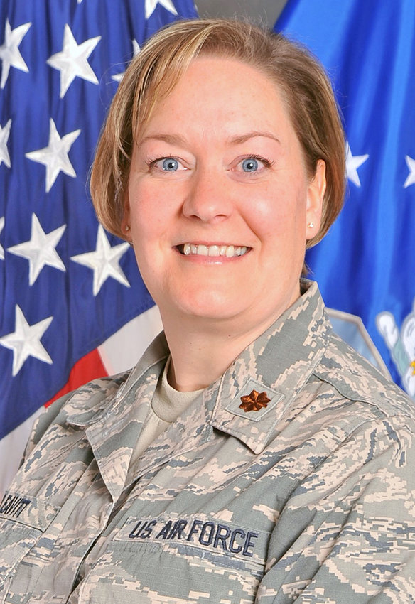 On Sept. 12, Lt. Col. Jennifer (Andrewski) Leavitt assumed command of the 170th Operations Support Squadron at Offutt Air Force Base in Nebraska. Leavitt has served as an Air Force Intelligence Officer for 27 years with assignments in Hawaii, Texas, Virginia and Nebraska and deployments to Ecuador, Saudi Arabia, and Southwest Asia. Leavitt is the daughter of Paul and Nancy Weigandt of Oriskany, and Joe and Linda Andrewski of Rome.
