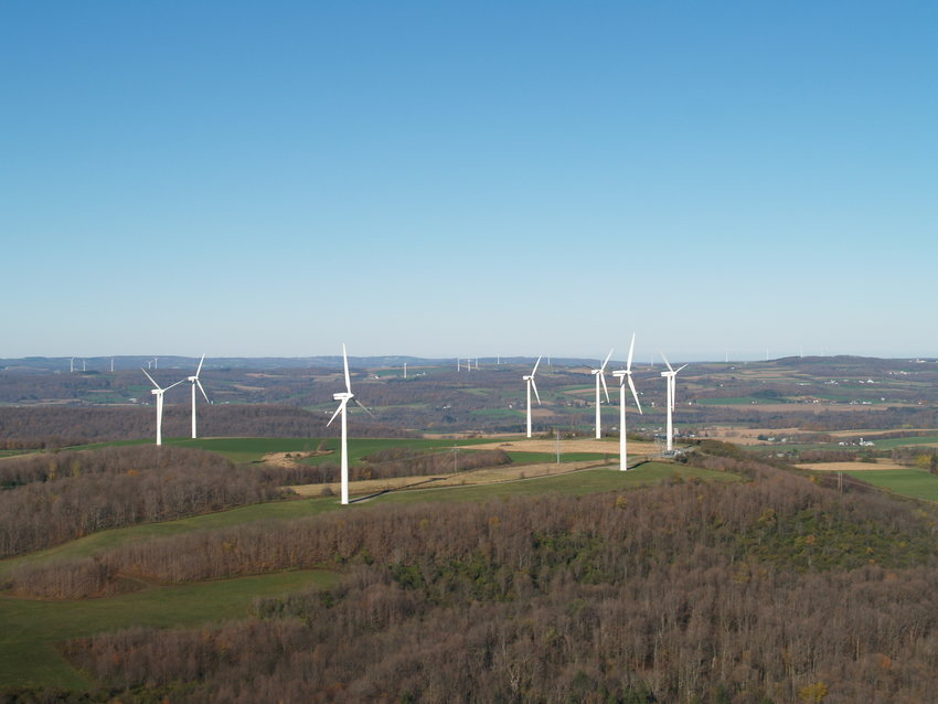 MADISON WIND FARM — New York state and local leaders mark the 20th anniversary of the Madison Wind Farm and what its success means for renewable energy in New York.