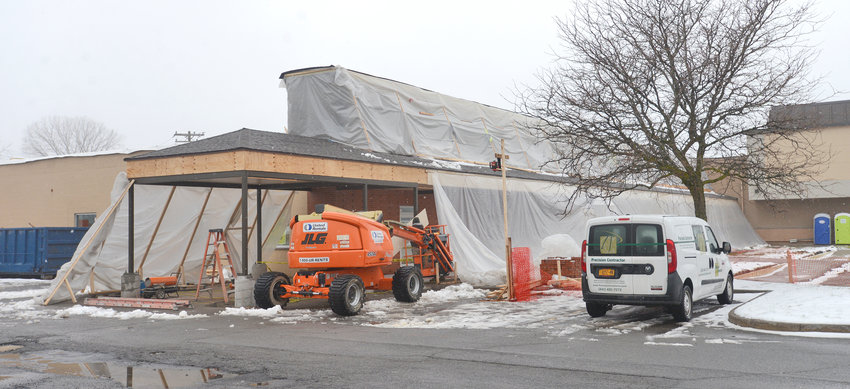 UNDER CONSTRUCTION — The former Rite Aid at 205 Erie Blvd. West in the Freedom Mall plaza next to the former JCPenney store is in the midst of more than $1 million overhaul. The new facility will be the new location of a dialysis center, according to city officials.