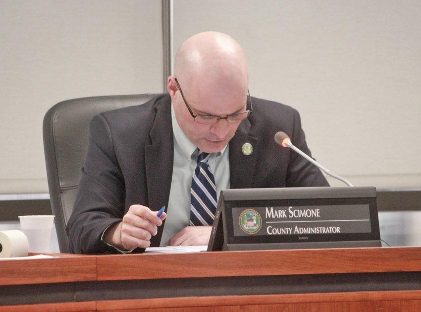 Mark Scimone  Madison County Administrator