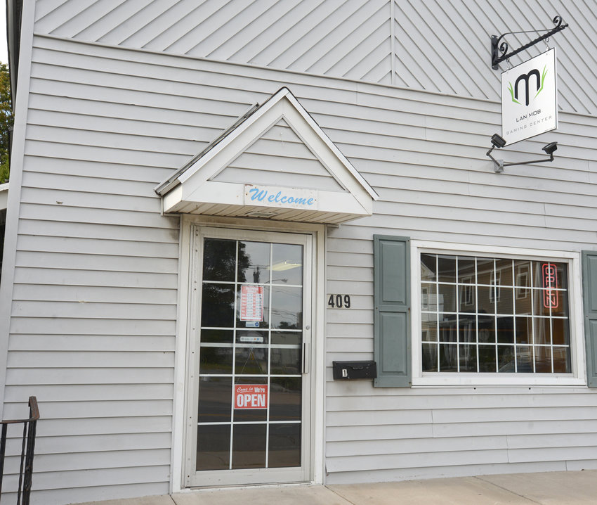 GOING OUT OF BUSINESS — The exterior of the Rome PC gaming business, the LAN Mob, is shown at its 409 N. James St., in this file photo. The shop was heavily impacted by the economic shutdown as a result of the COVID19 pandemic, says owner Aaron Wade.