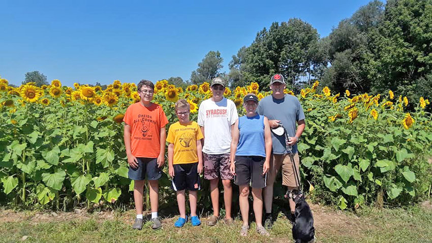 FARM FAMILY — Due to a medical emergency, family and friends have banded together to support the Conley family, owners and operators of the Conley Farm.