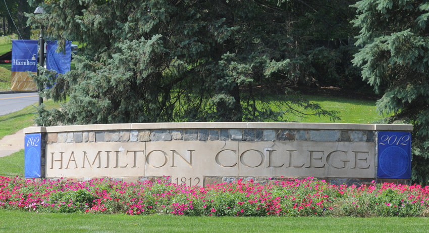 BIG IMPACT — A new economic impact study found that Hamilton College's estimated economic impact in the Mohawk Valley was approximately $325.5 million in 2018-19.