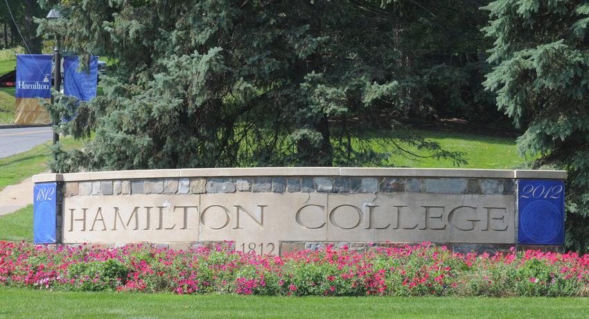 BIG IMPACT — A new economic impact study found that Hamilton College's estimatedeconomicimpactin the Mohawk Valley was approximately $325.5 million in 2018-19.