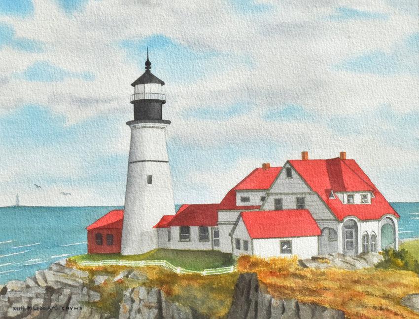 Lighthouse — Piece by Keith M. Leonard