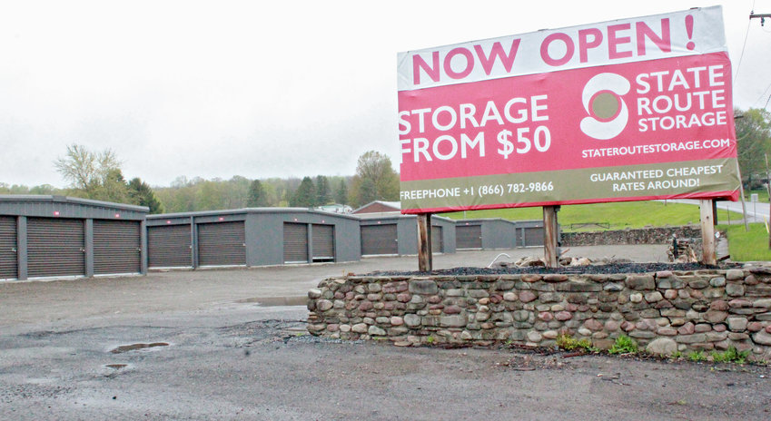OPEN AND EXPANDING — State Route Storage in Lee is open for business and has received planning permission to build 32 new units on top of the required renovations set forth by a court order.   (Sentinel photo by Charles Pritchard)