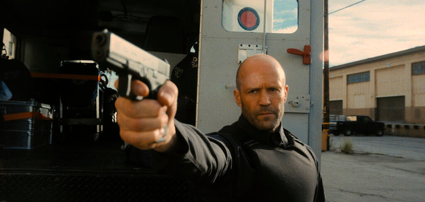 """This image released by Metro Goldwyn Mayer Pictures shows Jason Statham in a scene from """"Wrath of Man,"""" a film by Guy Ritchie. (Metro Goldwyn Mayer Pictures via AP)"""