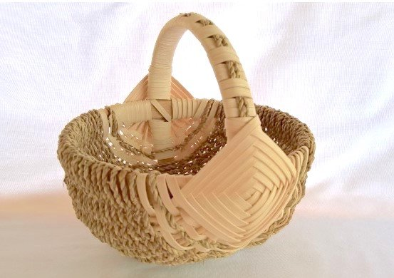 """""""Weave A Hand-Crafted Melon Basket"""" — With basket maker Linda Scherz on June 9. The workshop runs from 10 a.m. to 4 p.m."""