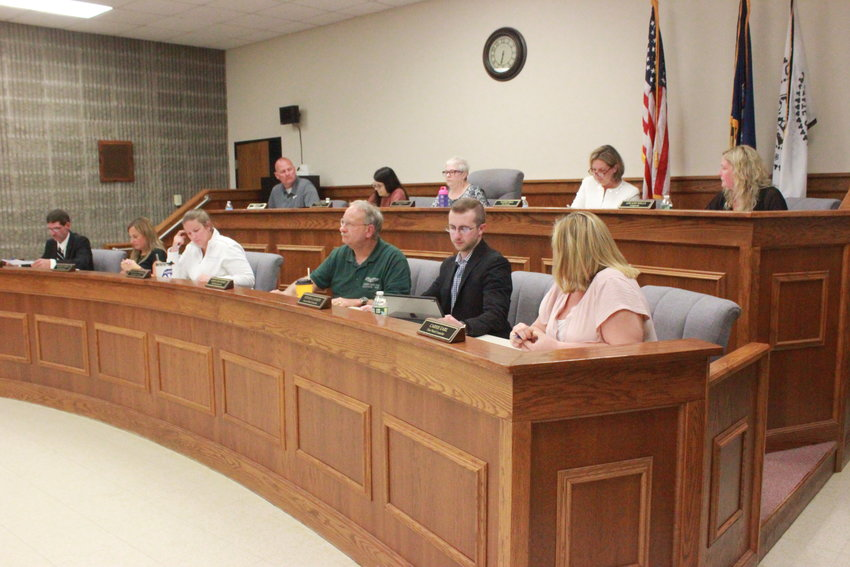 PUTTING THE BAND BACK TOGETHER — The Oneida Common Council meets for the first time at Oneida City Hall since the pandemic, with meetings held there for the foreseeable future.