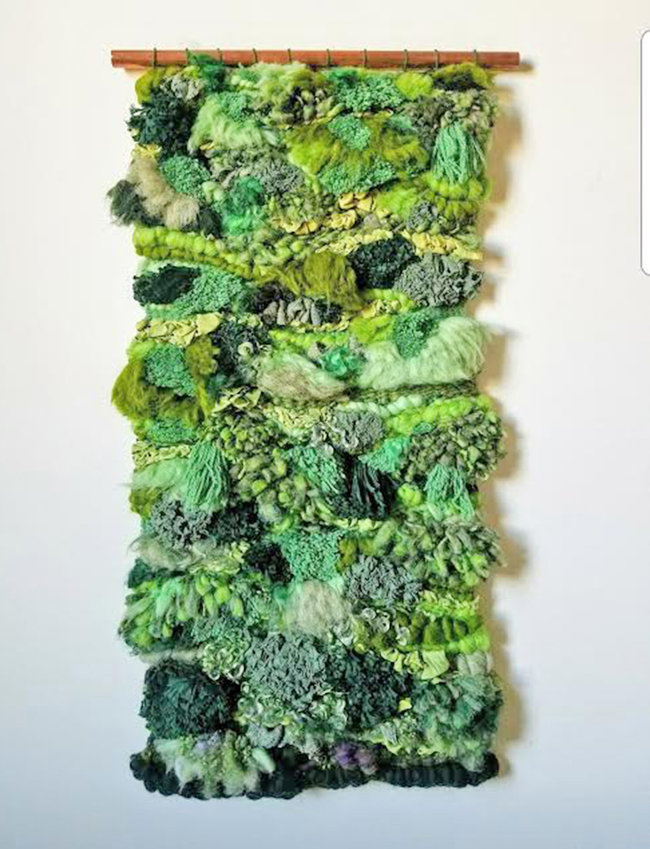 Woven Forest Floor Tapestry — With Mallory Zondag July 24 10 a.m.- 2 p.m.