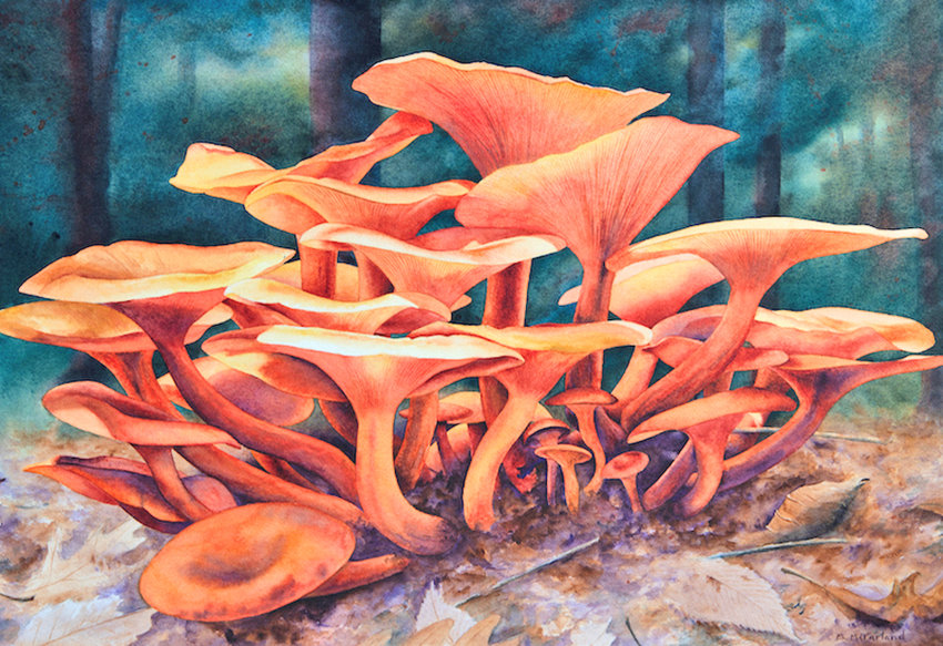"""Jack-O'-Lanterns"" — Piece by Michael McFarland"
