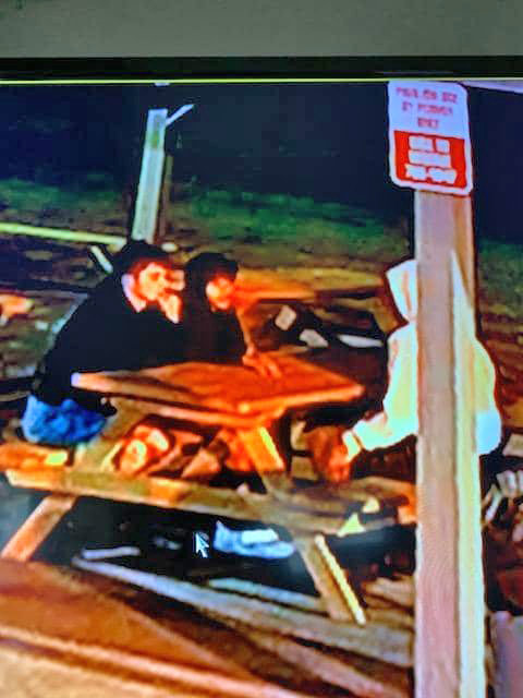 WHITESTOWN VANDALISM — These young, white males are suspected in vandalism and graffiti at Dunham Manor Park in Whitestown. Police are asking that anyone who recognizes the males should call 315-736-1100.