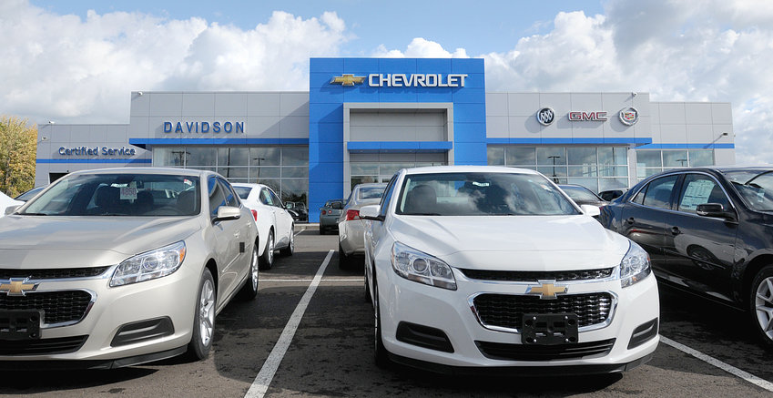 CHAMBER HONOR — The Rome Area Chamber of Commerce has named Davidson Chevrolet, with its dealership at 5905 Rome-Taberg Road, shown in this file photo. The Davidson family has been involved in the community for generations, the chamber said, adding that Davidson Chevrolet of Rome opened its doors in 1962 and laid the foundation for what is now one of the leading automotive sales and service groups in Central and Northern New  York.