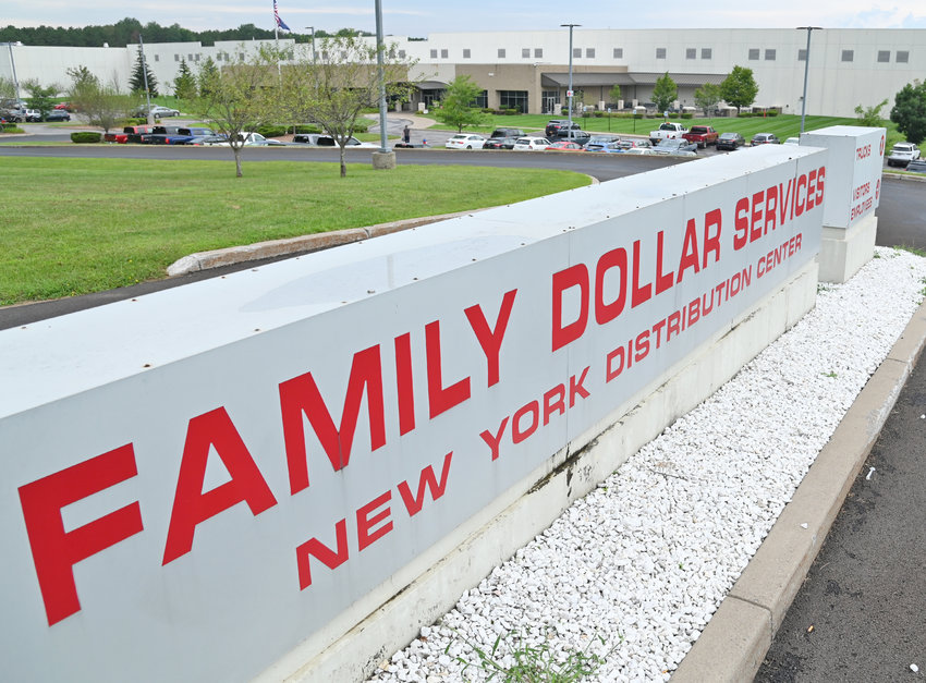 CHAMBER MEMBER OF WEEK — Family Dollar, a Dollar Tree, Inc. brand, has operated its Rome Distribution Center since 2006. The 907,000 square-foot facility, located at 640 Perimeter Road, employs more than 300 associates and services stores in 11 states.