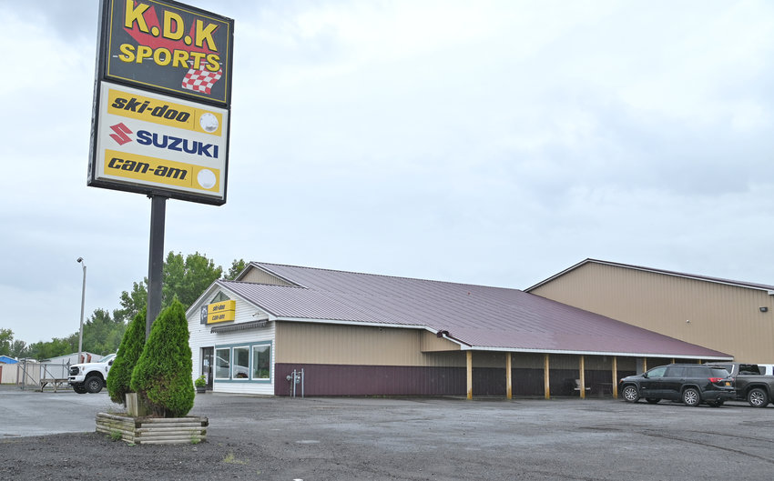 """BUSINESS HONOR — The Rome Area Chamber of Commerce has named KDK Sports, 5946 Rome-Taberg Road, as its Member of the Week. The business was started in November 1995 by Frank Conover, who named it after his three children: Kelly, Danielle and Kyle, also known as """"The little KDKs."""""""
