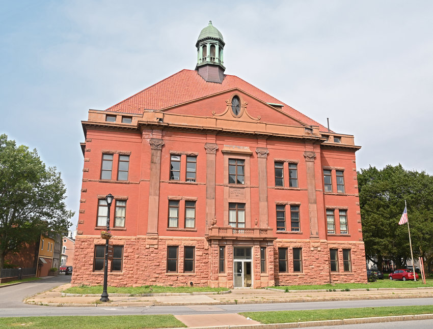 READY TO MAKE ANOTHER IMPACT? — Once the stately seat of local government, Old City Hall, at 207 N. James St., is set to make a comeback as a Community Impact Center, a hub of human service agencies co-located at the site to provide comprehensive services to local residents.
