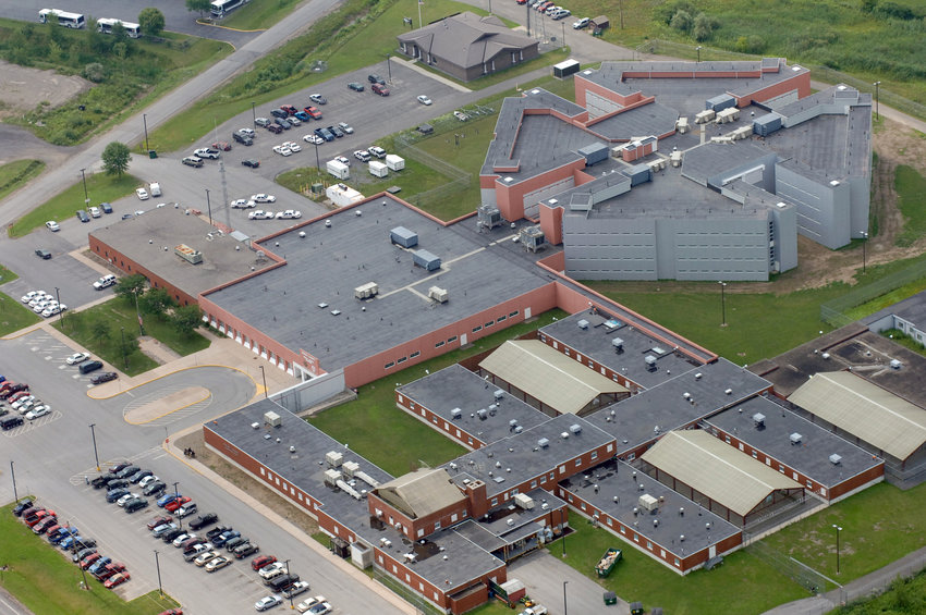 Aerial fo Oneida County Jail, sheriff department and 911 center from July 25, 2007   (Sentinel photo by John Clifford)