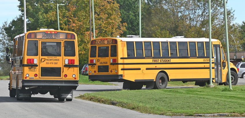 STOPPING FOR COVID —An increase in bus drivers testing positive for COVID-19 has forced the Rome City School District to switch from in-person instruction to remote instruction, starting today, Friday, Oct. 1, and lasting through Friday, Oct. 8. In-person instruction is set to resume on Tuesday, Oct. 12, according to a letter from district Superintendent Peter C. Blake.