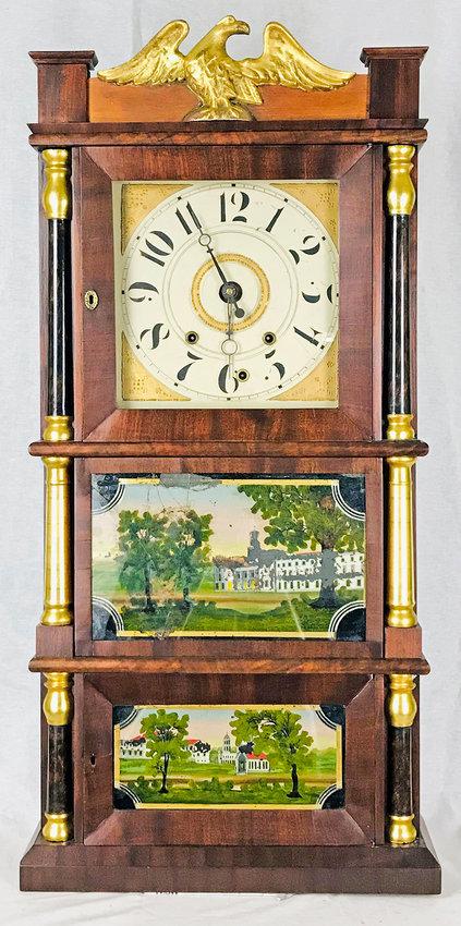 ON DISPLAY — Carter Weller clock