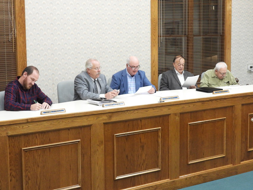 TUESDAY'S MEETING — The Lee Town Board holds a special meeting on Tuesday, Oct. 27. A public hearing was held to discuss the 2022 town budget before it was passed unanimously. The next town meeting will be on Tuesday, Nov. 9 at 7 p.m.