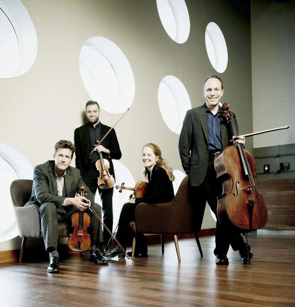 St. Lawrence String Quartet  (Photo by Marco Borggreve)