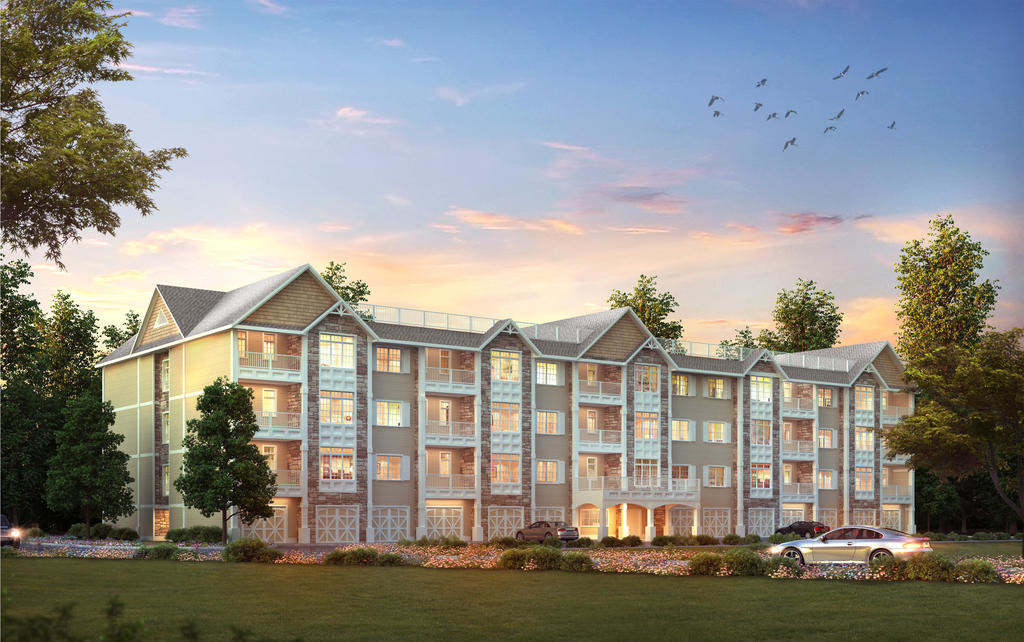 SENIOR HOUSING — This is a retrospect of the senior housing complex Buck Construction, of Whitesboro, is proposing to build in the Village of Clinton.