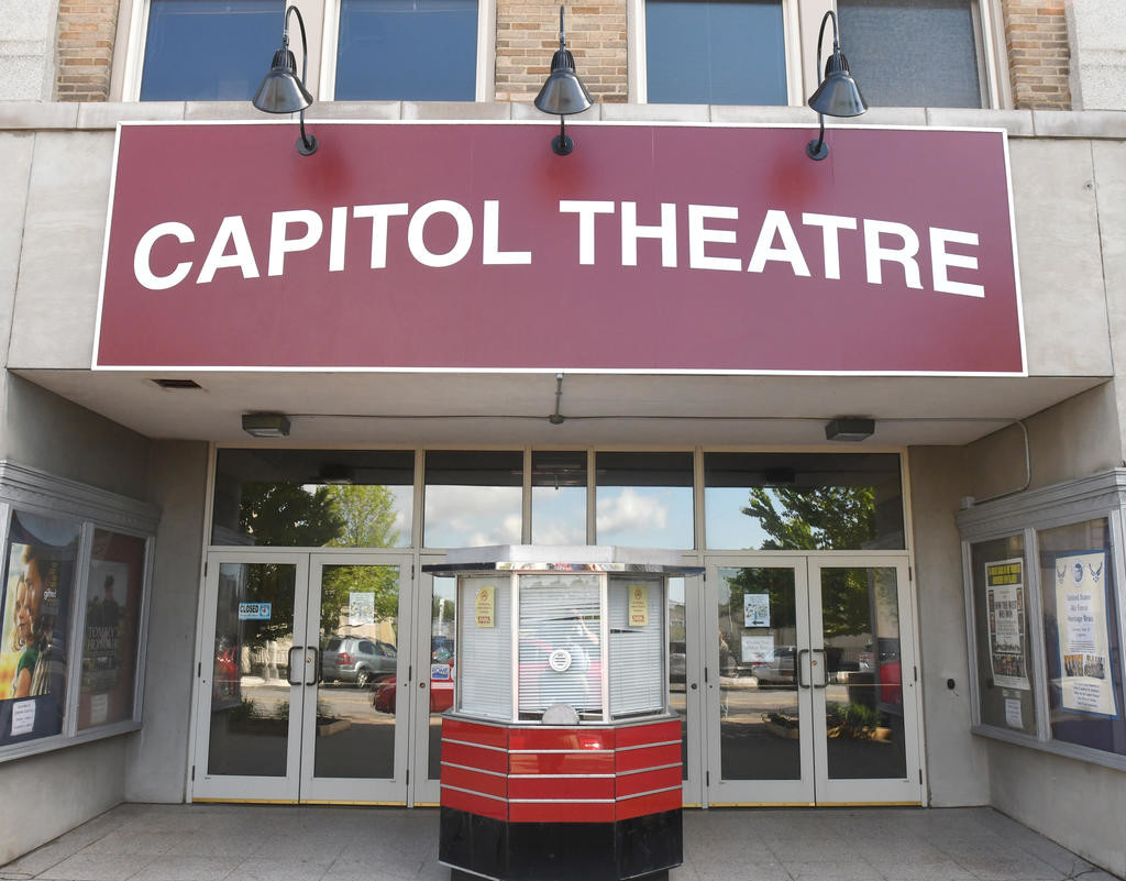 READY TO ROCK — The Capitol Theatre, 220 W. Dominick St., will host Rock the Cap 2018, a fundraiser to benefit the arts complex's restoration fund on Saturday.  (Sentinel photo by John Clifford)