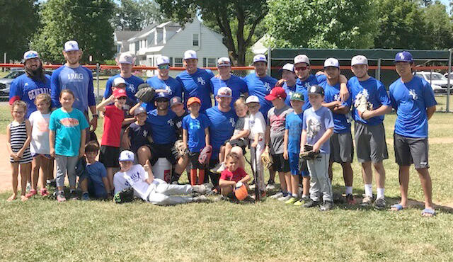 BASEBALL CAMP — The Rome Generals held a Baseball Camp on July 20-21 at Franklyn Field. The Generals, who play in the New York Collegiate Baseball League, hosted two days of games, drills and instruction for ages 4-18.  (Photo submitted)