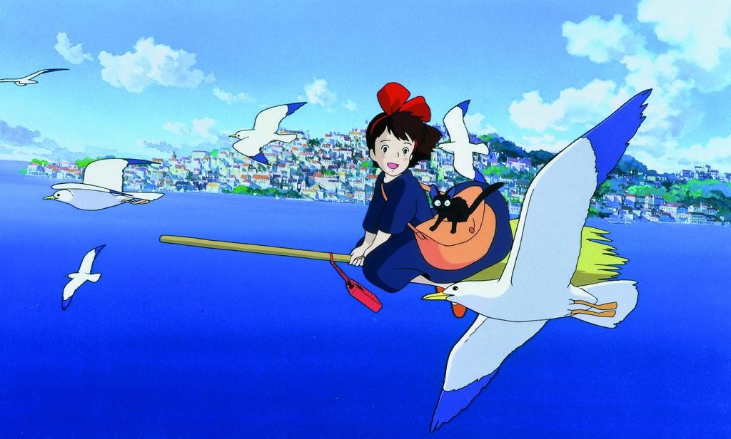 "FLYING HIGH — Scene from ""Kiki's Delivery Service""  (Image submitted)"