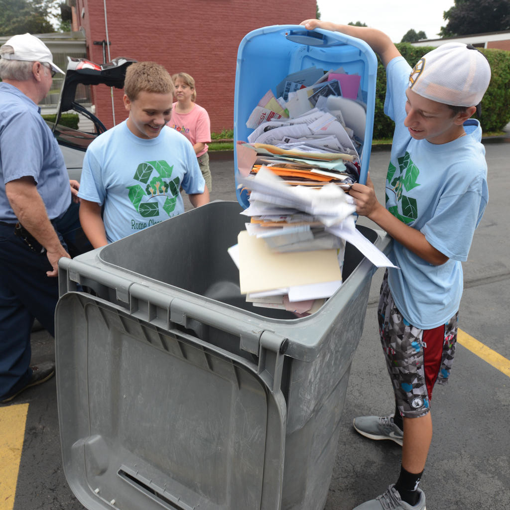 Jervis Library To Host Recycling Day Rome Daily Sentinel It Scrap Hard Drive Circuit Board