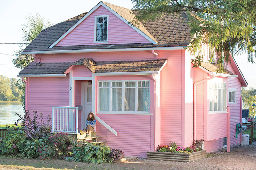 LITTLE PINK HOUSE — The movie is based on the true story of Susette Kelo, a resident of New London, Conn., whose property, as well as those of her many neighbors, was taken from her by the city in an eminent domain case.  (Photo submitted)