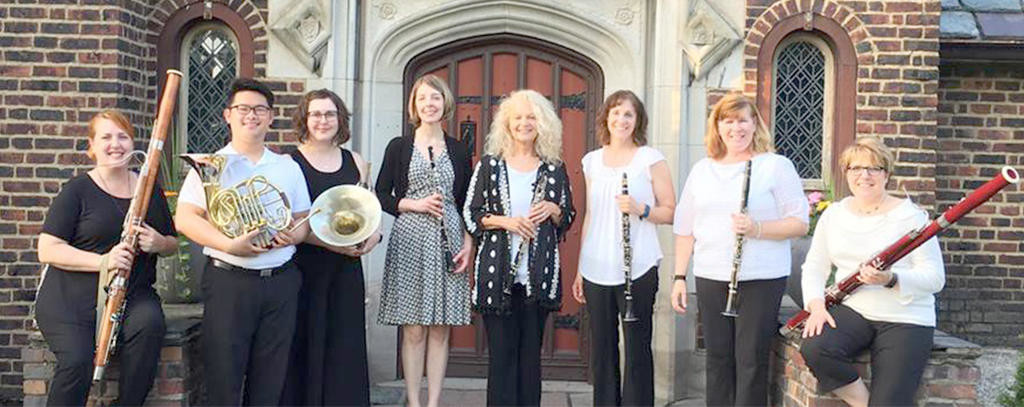 Alliance Classical Players — The group will present a free concert of music for winds and piano at 7 p.m. on Saturday, April 21, at the First Presbyterian Church  (Photo submitted)